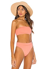 Seafolly Active Tube Top in Peach
