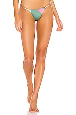 Seafolly Modern Art Rio Bottom in Dalia