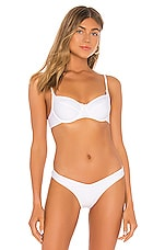 Seafolly Capri Sea Underwire Bra Bikini Top in White