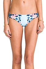 Bella Rose Hipster Bottom in Vintage Blue