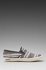 Baja Slip-On Surfari in Grey Poncho Stripe
