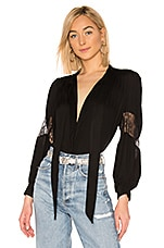 Secular The Nina Blouse in Black