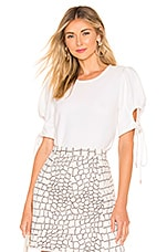 See By Chloe Puff Sleeve Blouse in White