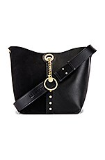 See By Chloe Gaia Suede & Leather Tote in Black
