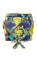 See By Chloe Joan Mini Python Camera Bag in Hemp