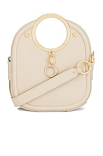 See By Chloe Mara Small Tote Leather Bag in Cement Beige
