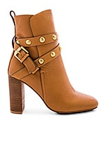 See By Chloe Janis Bootie in Brown & Gold