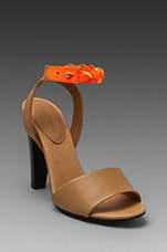 F Summer Heel en Orange