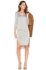 Malin Dress in Heather Grey
