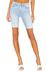 7 For All Mankind High Waist Bermuda Short in Roxy Lights