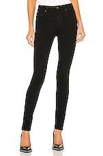 The High Waist Skinny en Slim Illusion Luxe Black