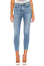 7 For All Mankind High Waist Ankle Skinny in Beau Blue