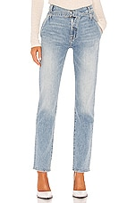 7 For All Mankind Paperbag Slim Straight in Vail