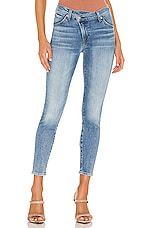 7 For All Mankind Asymmetric Front Slim in Retro Ventura Blvd