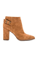 Company Booties in Cognac