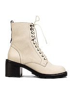 Seychelles Irresistible Bootie in Off White Leather
