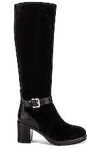 Seychelles Cheers To Us Boot in Black Suede