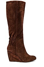 Seychelles Star Of the Show Boot in Chocolate Suede