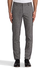 Slim Fit Suit Pant in Grey Tweed