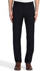 Slim Fit Suit Pant in Navy Wool