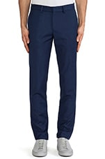 Slim Fit Suit Pant in Classic Blue Wool