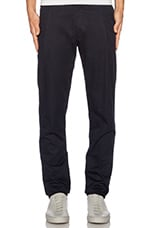 Pleated Dress Pant in Navy