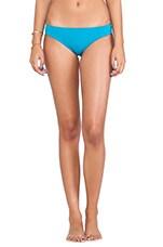 Neoprene Minimal Bikini Bottom in Turquoise