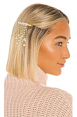 SHASHI Finesse Clip in Gold