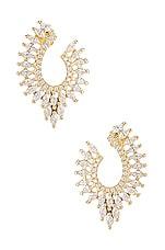 SHASHI Diana Stud Earring in Gold