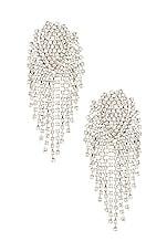 SHASHI Royal Queen Earring in Silver