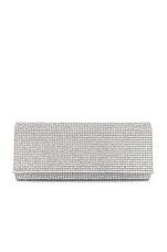 SHASHI Paris Clutch in Silver
