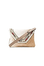 Maria Clutch in Tan