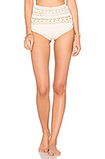 Farah High Waisted Bottom in Natural