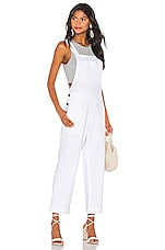 Show Me Your Mumu Dale Overalls in White Linen