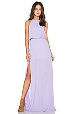 ROBE MAXI HEATHER
