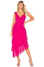 Show Me Your Mumu Samba Maxi Dress in Magenta