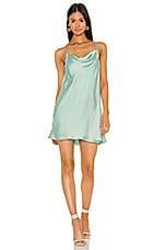 Show Me Your Mumu X REVOLVE Sabine Dress in Mint Sheen
