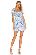 Show Me Your Mumu Breanna Dress in Mama Blues
