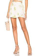 Show Me Your Mumu Ruffle Wrap Shorts in Sunny Side Floral