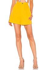 Show Me Your Mumu Stewart Short in Canary Yellow