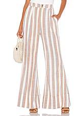 Show Me Your Mumu Edison Pants in Shorebert Stripe