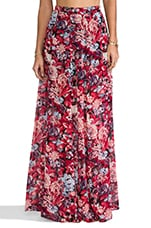 Princess Ariel Maxi Skirt in Winter Garden