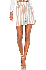 Show Me Your Mumu X REVOLVE Sedona Skirt in Shorebert Stripe