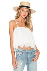 Abby Grace Top en Ivory & Cream Lace