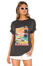 Show Me Your Mumu Travis Tee in Havana Postcard Graphic
