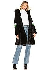 Shrimps Heidi Faux Fur Coat in Black