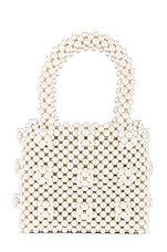Shrimps Mini Antonia Tote in Cream