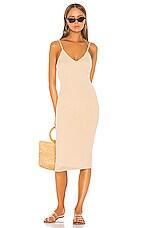 Shaycation x REVOLVE Violeta Midi Dress in Light Khaki
