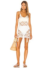 Shaycation x REVOLVE Bell Dress in White