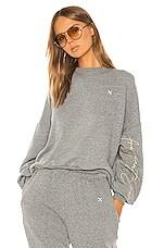 Shaycation x REVOLVE Frequent Flyer Sweatshirt in Heather Grey